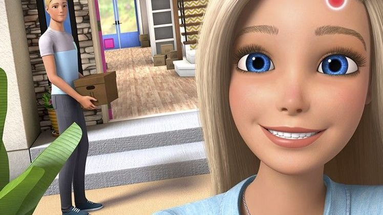 Barbie Dreamhouse Adventures Echange de chambres