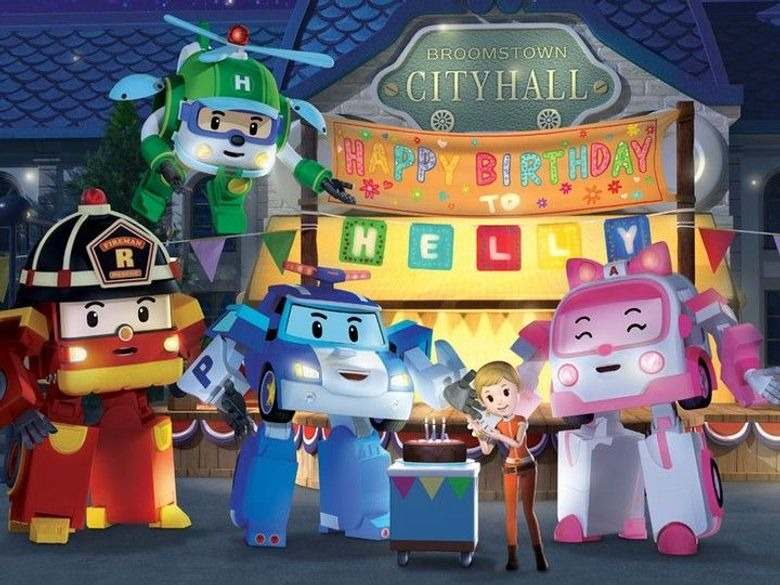 Robocar poli en streaming