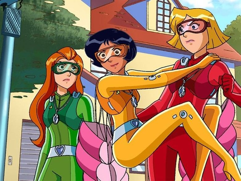 Totally spies du 01/04