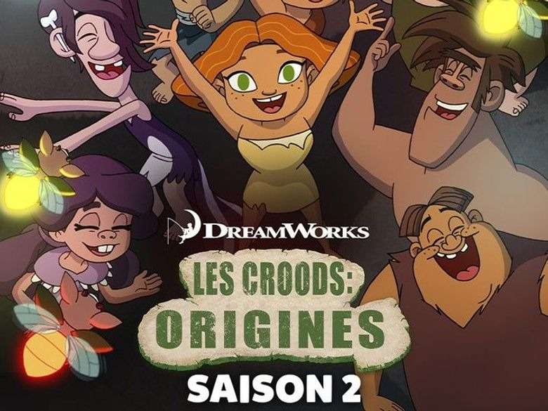 Revoir les croods : origines en replay